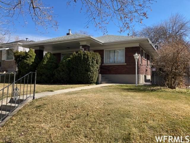 637 S 1300 E, Salt Lake City, UT 84102 (#1729935) :: C4 Real Estate Team