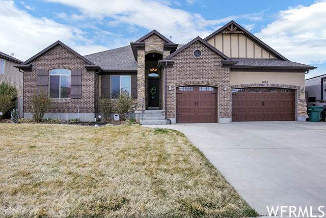 5885 S 4400 W, Hooper, UT 84315 (#1731925) :: Exit Realty Success