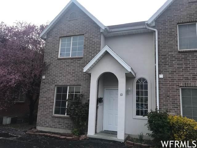865 N 500 W #13, Provo, UT 84604 (#1735393) :: Berkshire Hathaway HomeServices Elite Real Estate