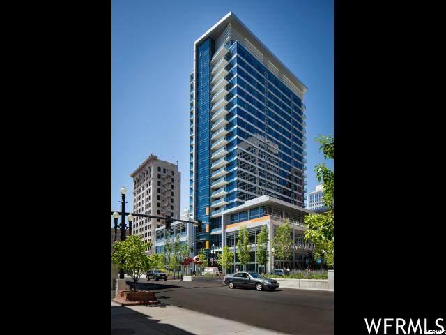 35 E 100 S #606, Salt Lake City, UT 84111 (#1735968) :: Doxey Real Estate Group