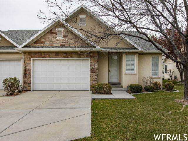 1071 W Tithing Ct S, Riverton, UT 84065 (#1737525) :: Red Sign Team