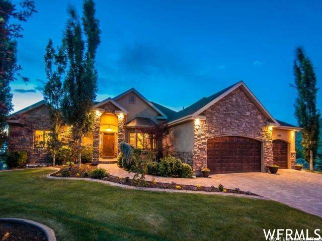1709 E Burning Oak Dr S, Draper, UT 84020 (#1740652) :: Black Diamond Realty