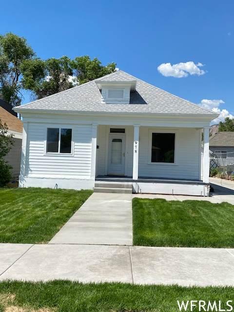 978 E 21ST S, Ogden, UT 84401 (#1749622) :: Berkshire Hathaway HomeServices Elite Real Estate