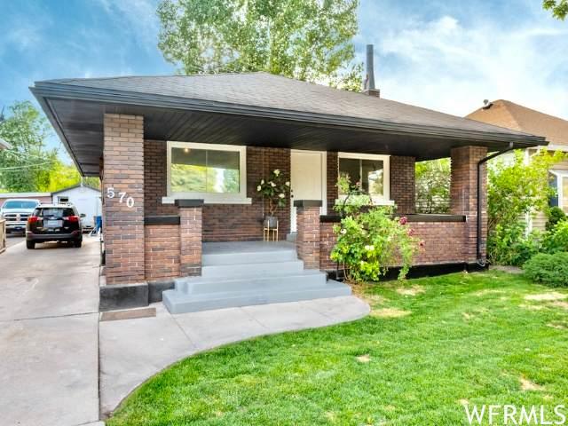 570 S 900 W W, Salt Lake City, UT 84104 (#1750709) :: C4 Real Estate Team
