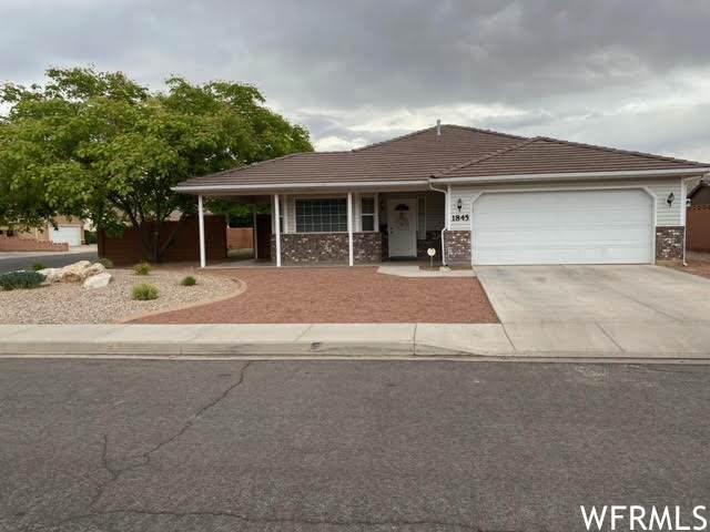 1845 S Pommel Cir, Washington, UT 84780 (#1750776) :: C4 Real Estate Team