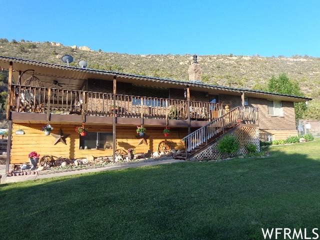 6407 N Dry Fork Canyon Rd W, Vernal, UT 84078 (#1756357) :: Powder Mountain Realty