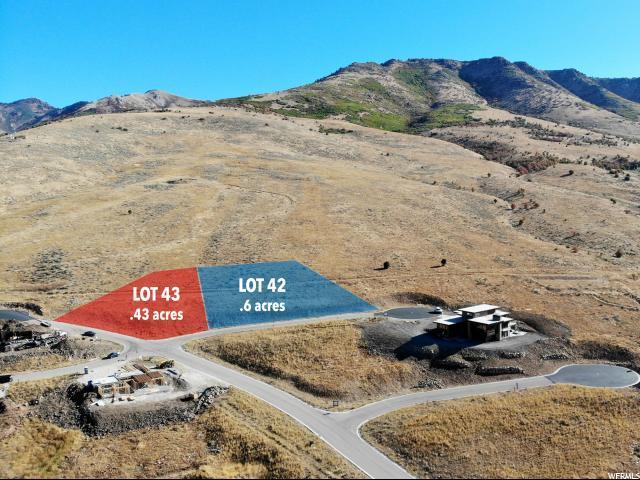 4058 N Mountain Ridge - Lot 43, Eden, UT 84310 (#1287560) :: The One Group