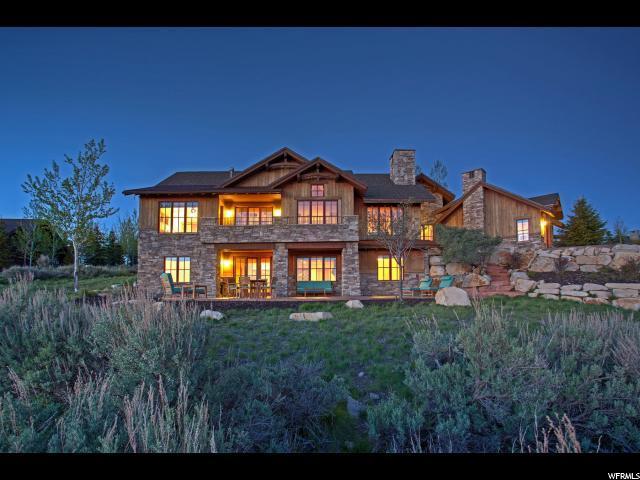 8030 N West Hills Trl, Park City, UT 84098 (MLS #1453617) :: High Country Properties