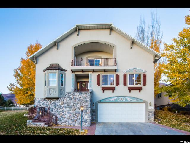 1161 Warm Springs Rd, Midway, UT 84049 (MLS #1488251) :: High Country Properties