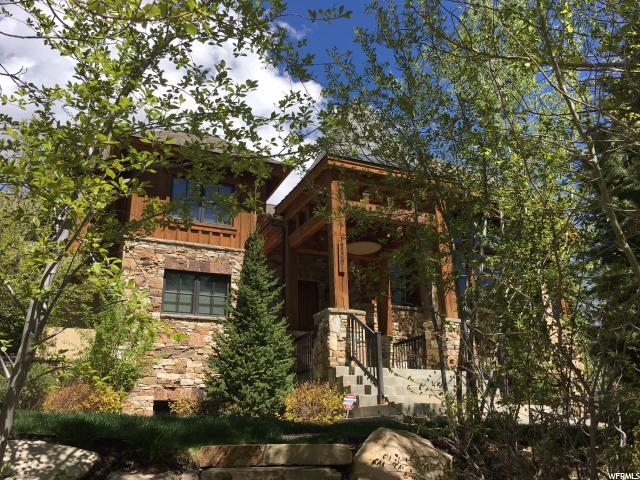2351 W Red Pine Ct, Park City, UT 84098 (#1496778) :: Red Sign Team