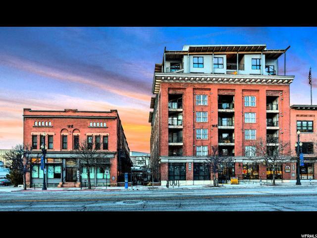 328 W 200 S #602, Salt Lake City, UT 84101 (#1502221) :: The Fields Team