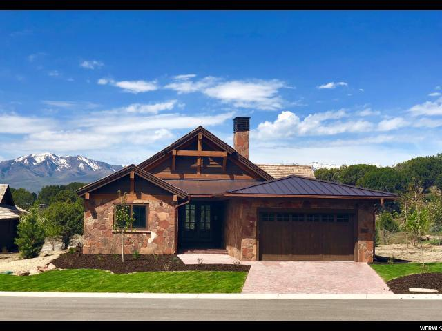 133 N Club Cabins Ct Cc-11, Heber City, UT 84032 (#1510984) :: The Fields Team
