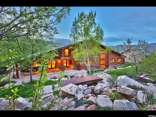 4265 Hidden Cove Rd, Park City, UT 84098 (#1517045) :: Exit Realty Success