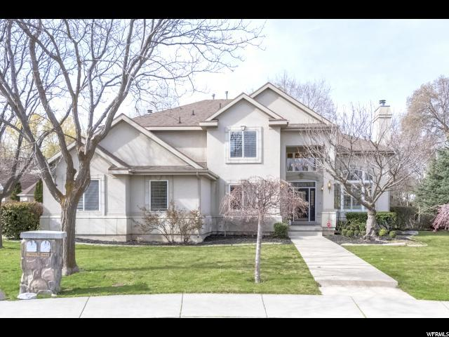 7968 S Willow Cir, Cottonwood Heights, UT 84093 (#1520014) :: The Fields Team