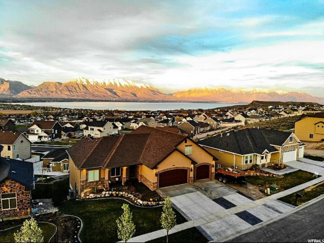 1486 S Rocky Ridge Ln, Saratoga Springs, UT 84045 (#1520383) :: The Utah Homes Team with iPro Realty Network