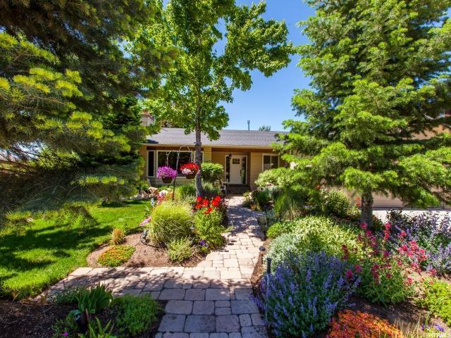 9522 S Hunts End Dr E, Sandy, UT 84092 (#1528789) :: Big Key Real Estate