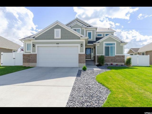 826 S 1025 W, Clearfield, UT 84015 (#1528925) :: Bustos Real Estate | Keller Williams Utah Realtors