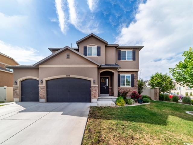 3348 W High Bluff Meadow Ln N, Lehi, UT 84043 (#1529895) :: Exit Realty Success