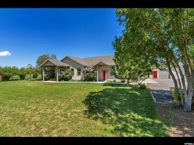 121 E 3200 (UPPER LOOP ROAD) N, Marion, UT 84036 (MLS #1531621) :: High Country Properties