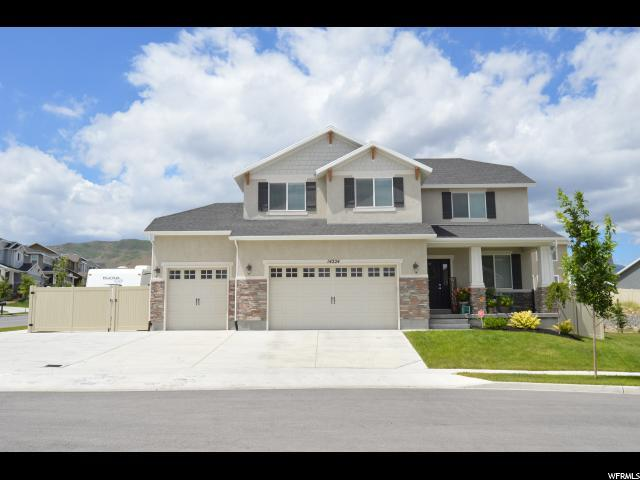 14224 Lower Meadow Cir S, Herriman, UT 84096 (#1533883) :: Big Key Real Estate