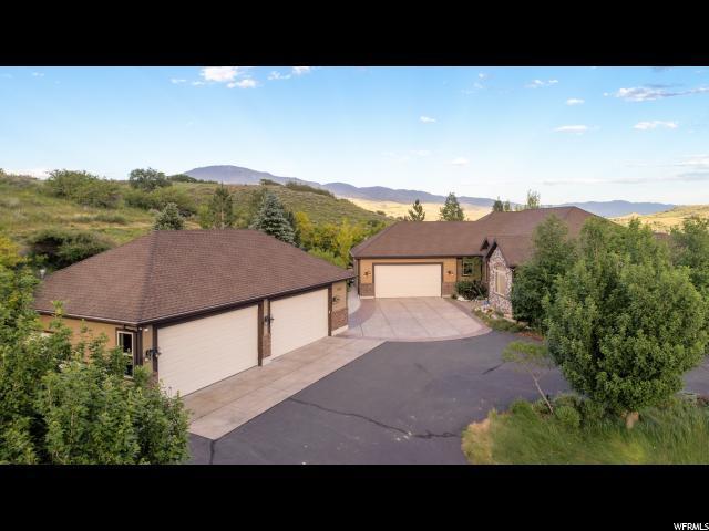 5530 W Mountain View Dr N, Mountain Green, UT 84050 (#1536090) :: Keller Williams Legacy