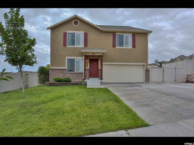 147 W Kestrel Dr S, Saratoga Springs, UT 84045 (#1540918) :: The Utah Homes Team with iPro Realty Network