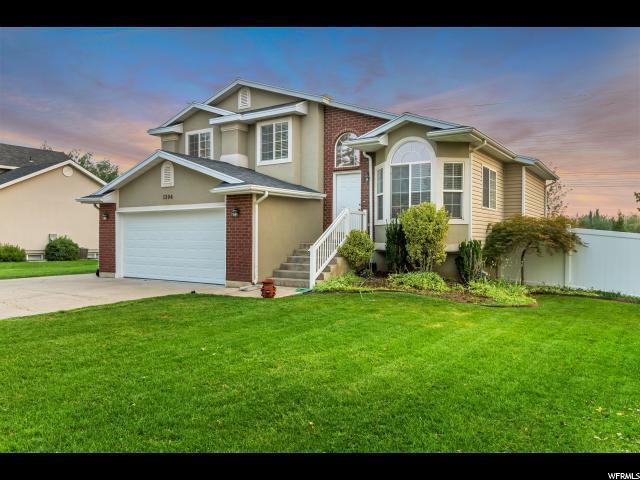 1304 W Bridgecreek Ln, Layton, UT 84041 (#1542936) :: Bustos Real Estate   Keller Williams Utah Realtors
