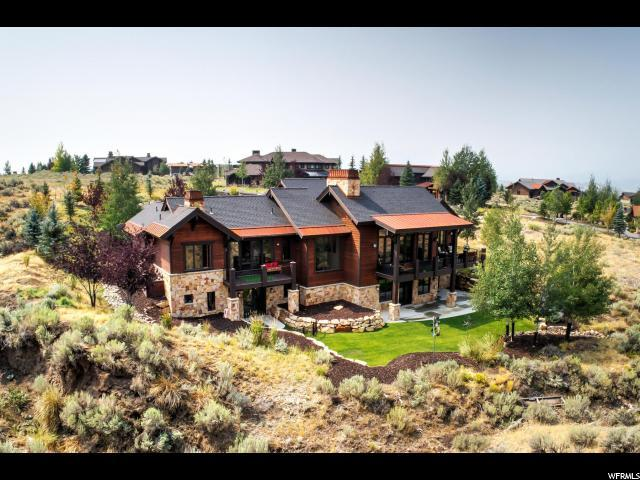 2338 E West View Trl, Park City, UT 84098 (MLS #1549945) :: High Country Properties