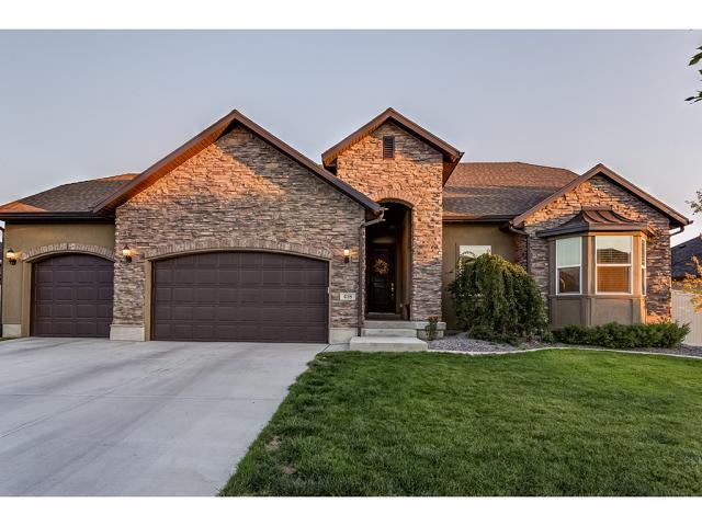 418 E Clay Ln, Lehi, UT 84043 (#1550948) :: Eccles Group