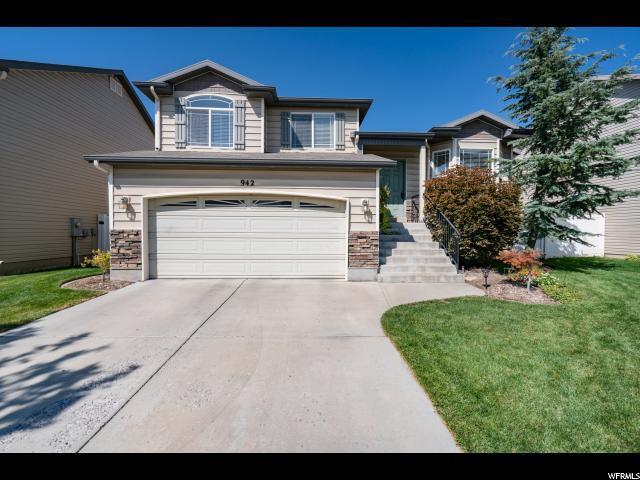 942 W Foxboro Dr, North Salt Lake, UT 84054 (#1552421) :: Bustos Real Estate | Keller Williams Utah Realtors