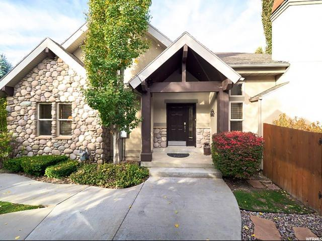 6938 S Canyon Pines Cir, Cottonwood Heights, UT 84121 (#1554119) :: Powerhouse Team | Premier Real Estate