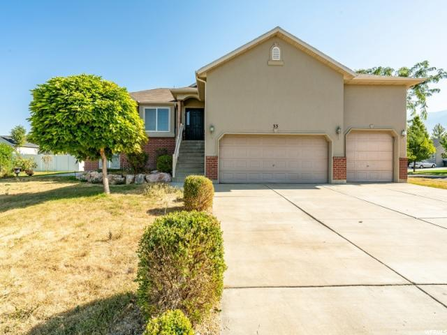 33 S Bonanza Rd W, Farmington, UT 84025 (#1554451) :: The Fields Team