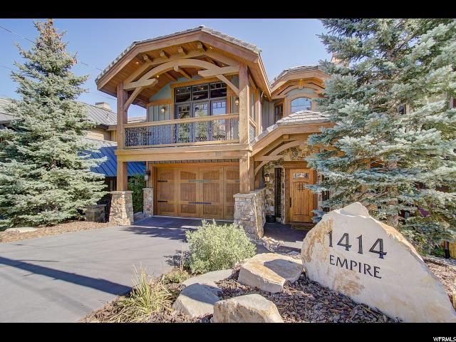 1414 Empire Ave, Park City, UT 84060 (#1558254) :: RE/MAX Equity