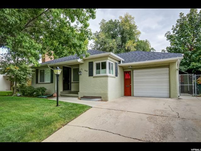 1404 E Parkway Ave S, Salt Lake City, UT 84106 (#1559914) :: Big Key Real Estate