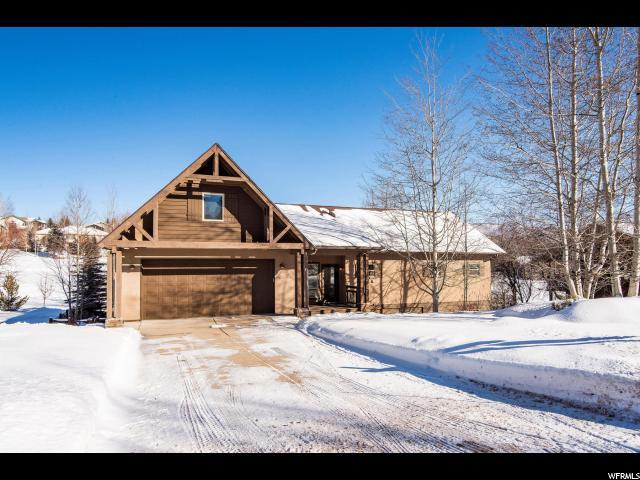8760 N Silver Spur Rd, Park City, UT 84098 (MLS #1559933) :: High Country Properties