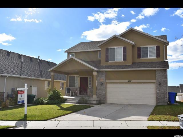 6837 W Valley Maple Dr, West Jordan, UT 84081 (#1563232) :: The Utah Homes Team with iPro Realty Network