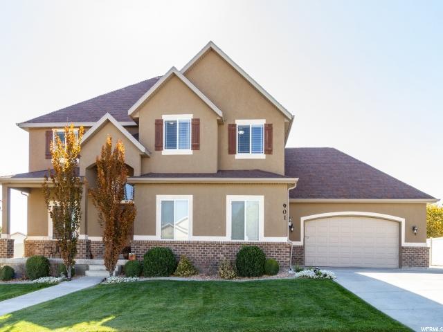 901 W Prairie Dog Way, Saratoga Springs, UT 84045 (#1564148) :: Big Key Real Estate