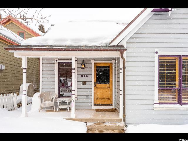 915 Park Ave, Park City, UT 84060 (#1565745) :: Bustos Real Estate | Keller Williams Utah Realtors