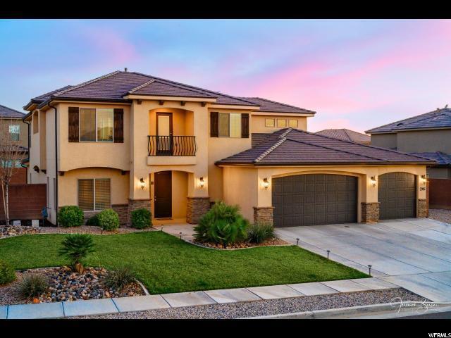 2916 E Crimson Rdg, St. George, UT 84790 (#1567503) :: Powerhouse Team   Premier Real Estate