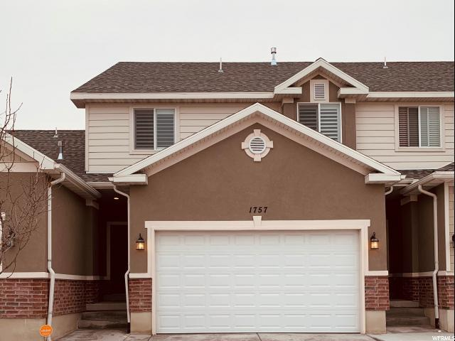 1757 W Hollow Cedar Ln S, Riverton, UT 84065 (#1569960) :: Red Sign Team