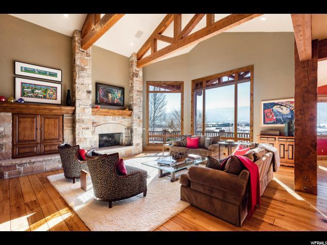 5740 Mountain Ranch Dr, Park City, UT 84098 (MLS #1571500) :: High Country Properties