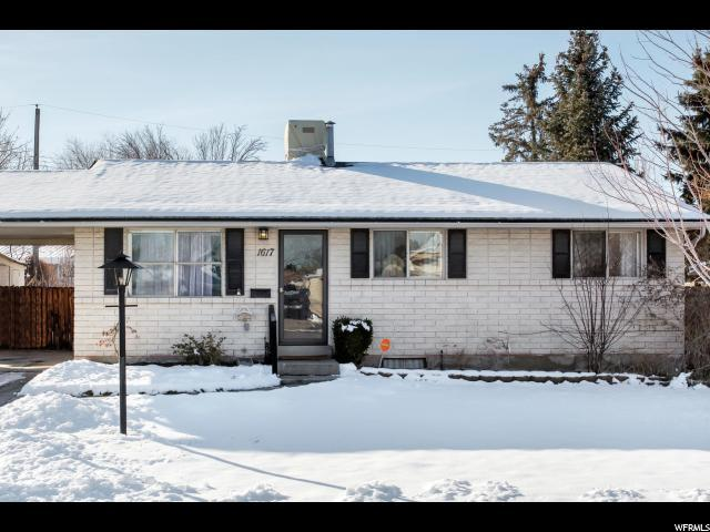 1617 W Lovely Rd, Taylorsville, UT 84123 (#1577480) :: Red Sign Team