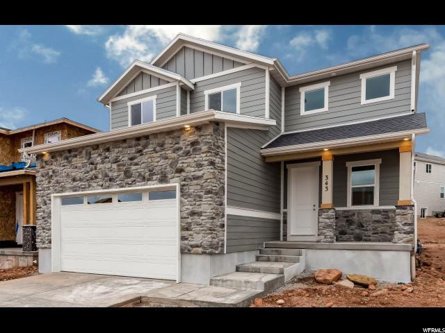 343 Bella Vida Dr, North Salt Lake, UT 84054 (#1578202) :: Bustos Real Estate | Keller Williams Utah Realtors