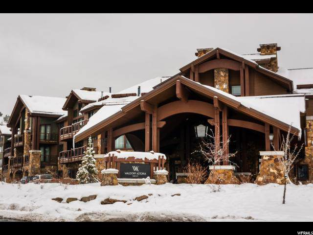 2100 Frostwood Blvd #6124, Park City, UT 84098 (#1581798) :: Colemere Realty Associates