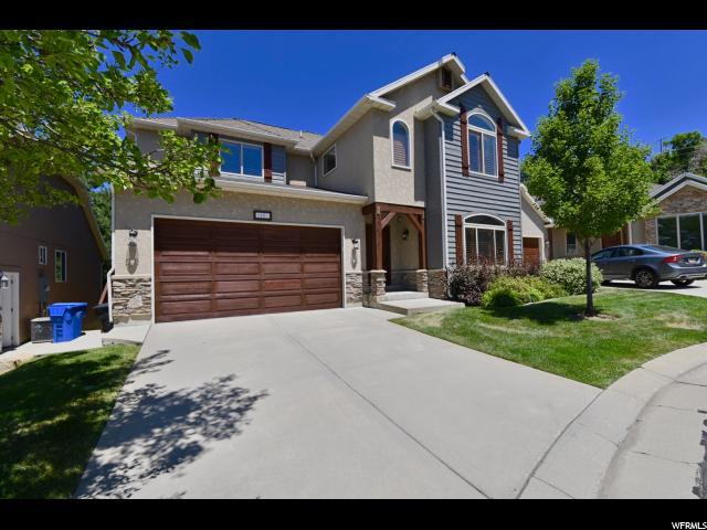 3261 E Lantern Hill Ct, Cottonwood Heights, UT 84093 (#1582785) :: goBE Realty