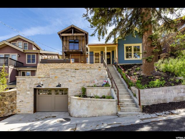 422 Ontario Ave, Park City, UT 84060 (#1584130) :: Red Sign Team