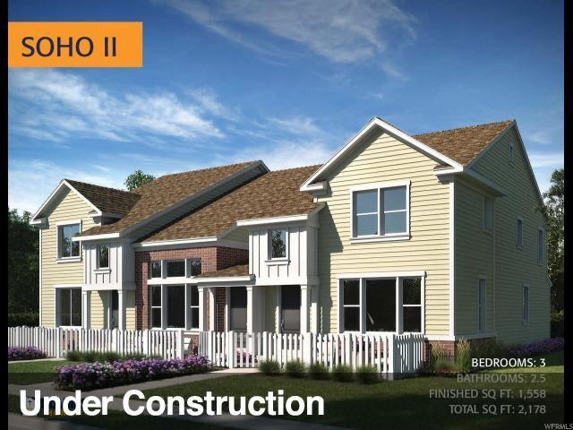13193 S Newbridge Ln W #55, Herriman, UT 84096 (#1585671) :: Big Key Real Estate