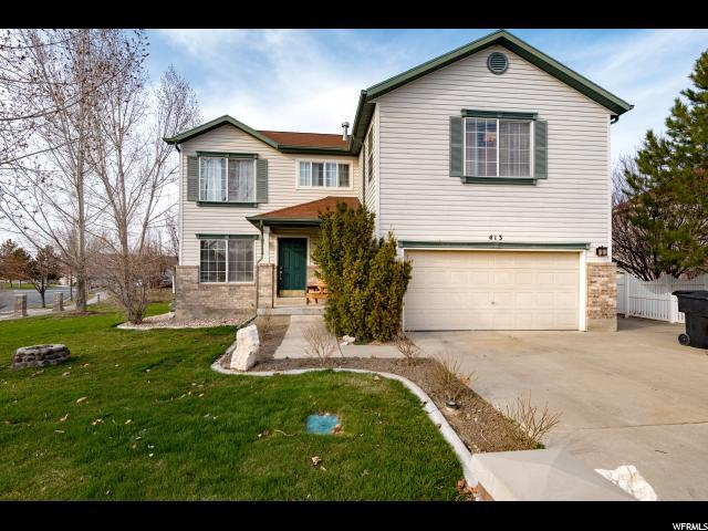413 Water Wheel Ln, Stansbury Park, UT 84074 (#1587848) :: Big Key Real Estate