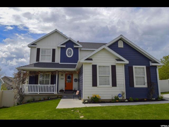 307 W Vineyard Way, Saratoga Springs, UT 84045 (#1588880) :: Bustos Real Estate | Keller Williams Utah Realtors