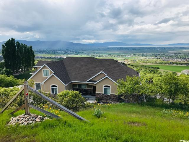 345 W Valley View Cir S, Woodland Hills, UT 84653 (#1591839) :: Red Sign Team